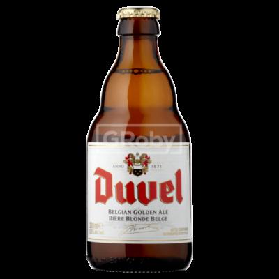 Duvel aranyszínű belga sör (0,33 l, 8,5%)