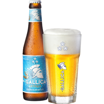 Gallica Asterus belga búzasör (0,33 l, 4,9%)