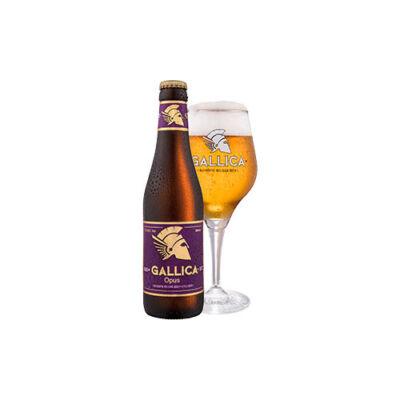 Gallica Opus belga félbarna sör (0,33 l, 9,5%)