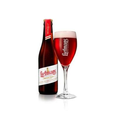 Liefmans kriek Brut belga sör (0,33 l, 6%)