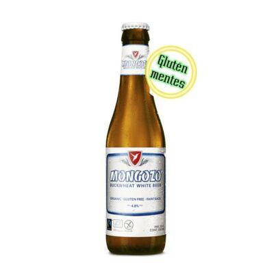 Mongozo Buckwheat White gluténmentes belga sör (0,33 l, 4,8%)