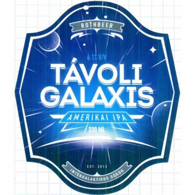 Rothbeer Távoli Galaxis Ipa (0.33l, 6.1%)