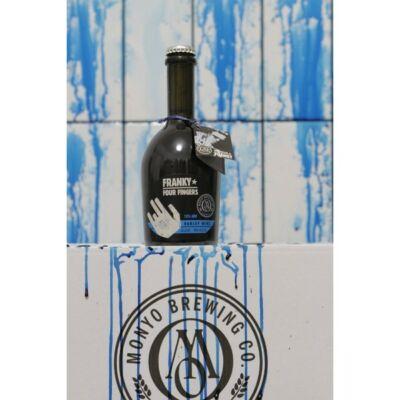 MONYO Négyujjú Franky (barley wine) (0,375 liter)