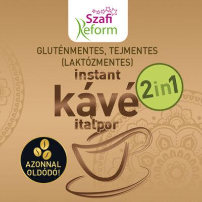 Szafi fitt 2in1 kávé italpor gluténmentes 200 g