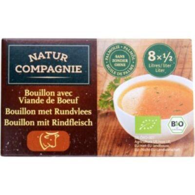 Natur Compagnie BIO Marhahúsleves kocka 96 g/8 db