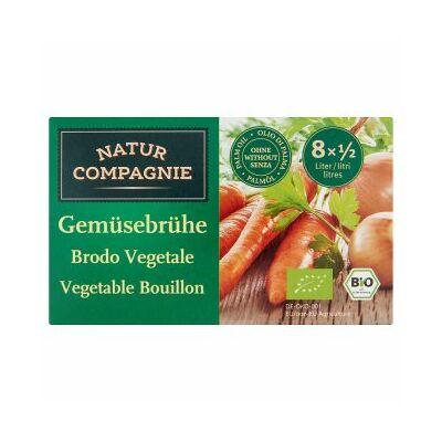 Natur Compagnie BIO Zöldségleves kocka 84 g/8 db