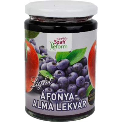 Szafi REFORM Lekvár Áfonya-Alma 350 g