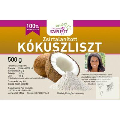 Szafi Reform Zsírtalanított finomszemcsés kókuszliszt 500 g