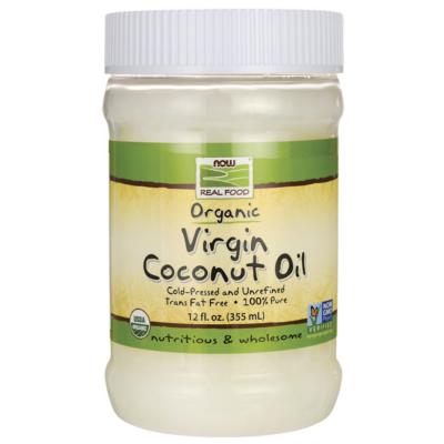 Now foods coconut oil 355 ml