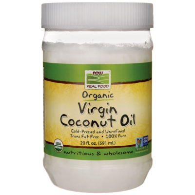 Now foods organic coconut oil 591 ml