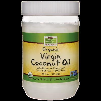 Now foods organic coconut oil 591 ml