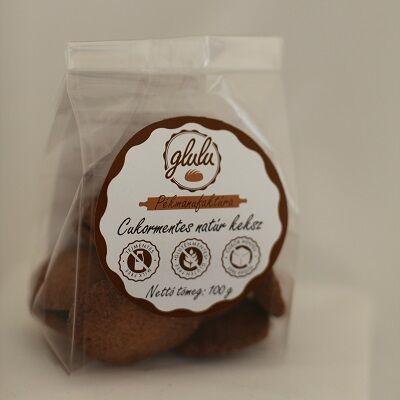 Glulu - Cukormentes natúr keksz 100 g