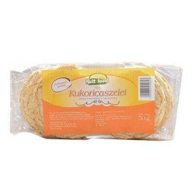 Nett Food puffasztott Kukorica Tallér 50 g
