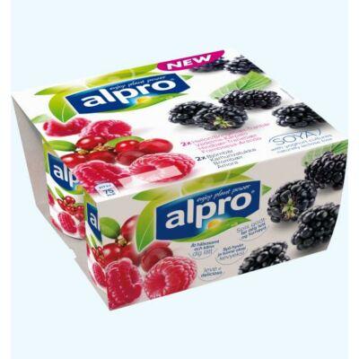 Alpro yofu joghurt szeder-málna 500 g