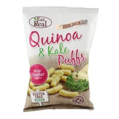 Eat Real Quinoa & Kale Puffs white cheddar 40 g
