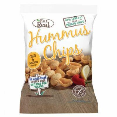 Eat Real csicseriborsó Chips Chili 45 g