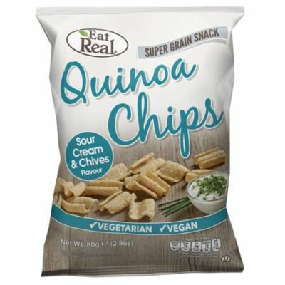 Eat real quinoa chips tejfölös-snidlinges 80 g