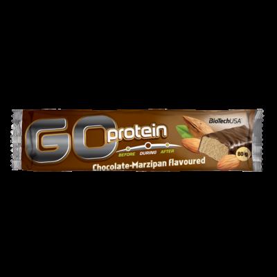 BiotechUSA Go Protein 80 g csokoládé-marcipán