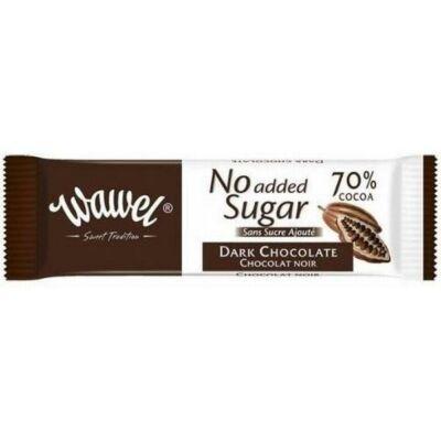 Wawel HOZZÁADOTT CUKORMENTES étcsokoládé 70% 30 g