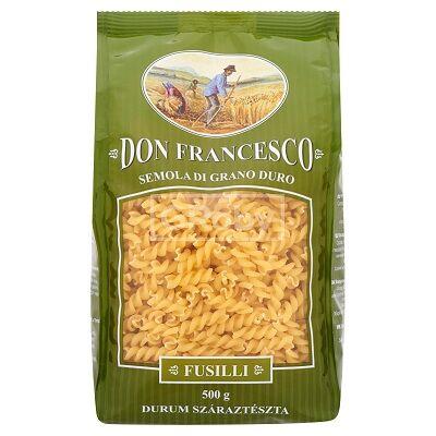 Don Francesco durum Tricolor száraztészta 500 g