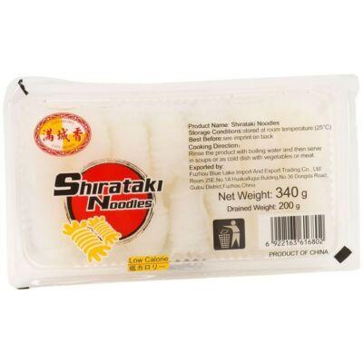 Shirataki tészta- Szélesmetélt