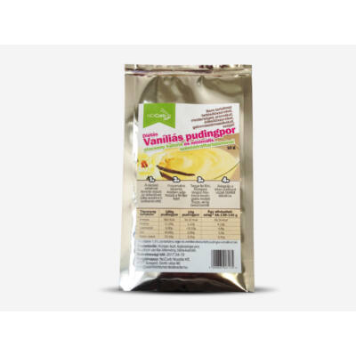 NoCarb 0% - Diétás Vaníliás Pudingpor 10 g