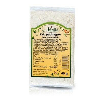 Dénes Natura - Zab pudingpor vaníliás, kakaós 40 g