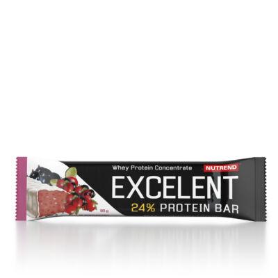 Nutrend Excelent Protein Bar 85 g - csokoládé nugát áfonyával
