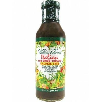 Walden Farms Dressing - Italian With Sun Dried Tomatoes Dressing (Olasz napon szárított paradicsomos dresszing) 355ml