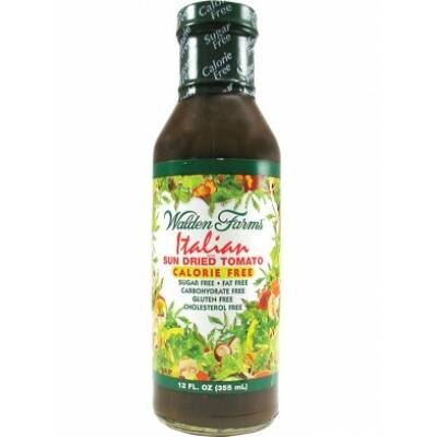 Walden Farms Dressing - Italian With Sun Dried Tomatoes Dressing (Olasz napon szárított paradicsomos dresszing) 355 ml
