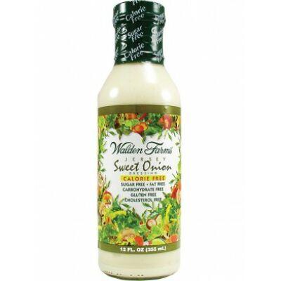 Walden Farms Dresszing - Sweet Onion Dressing (Édes hagymás dresszing)  355 ml