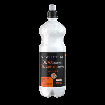 Absolute-Live BCAA+Glutamine Narancsos Ital 5000 mg