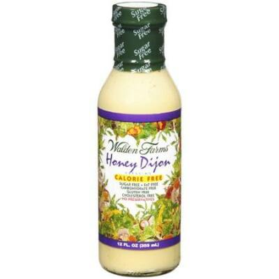 Walden Farms - Honey Dijon Salad Dressing (Mézes Dijoni Mustáros Salátaöntet) 340 g