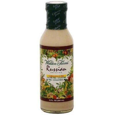 Walden Farms - Russian Salad Dressing (Orosz Salátaöntet) 340g