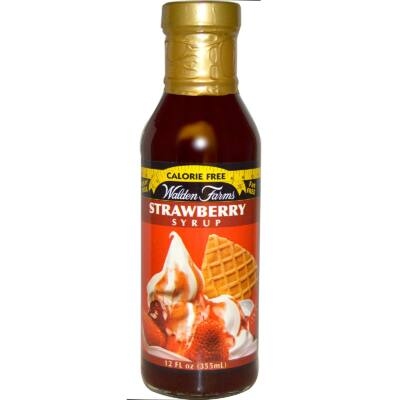 Walden Farms Szirup - Strawberry Syrup (eper szirup) 340 g