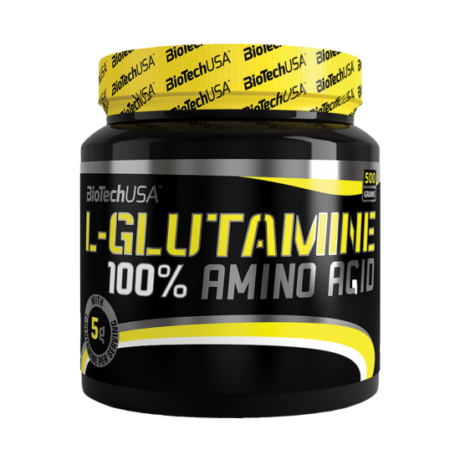 BiotechUSA 100% L-glutamine 500 g