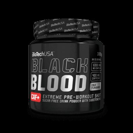 BiotechUSA Black Blood CAF+ 300 g Kóla ízű
