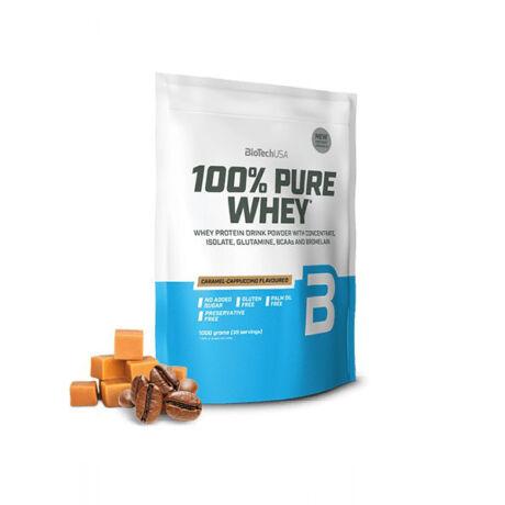 BioTechUSA 100% Pure Whey 1000g Karamell-Cappuccino