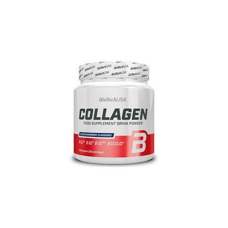 BioTechUSA Collagen 300g fekete málna