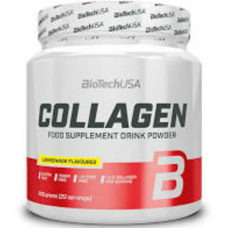 BioTechUSA Collagen 300g limonádé