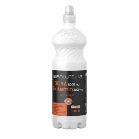 Absolute live BCAA + L-Glutamin Orange 1000ml