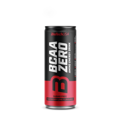 BioTechUSA BCAA Zero  energy drink 330ml málna-lime