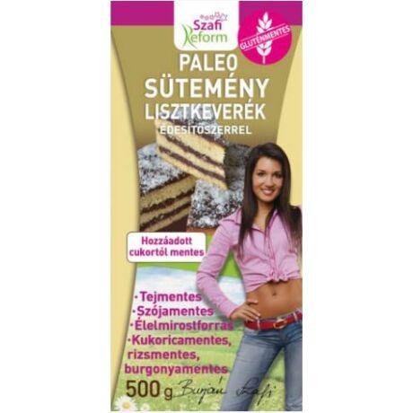 Szafi Reform Paleo sütemény lisztkeverék édesítőszerrel 500g