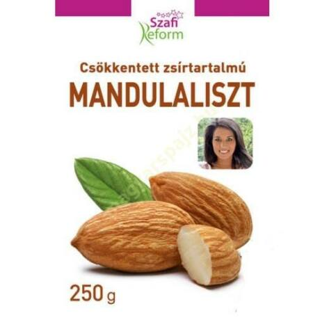 Szafi Reform Zsírtalanított Mandulaliszt 250 g