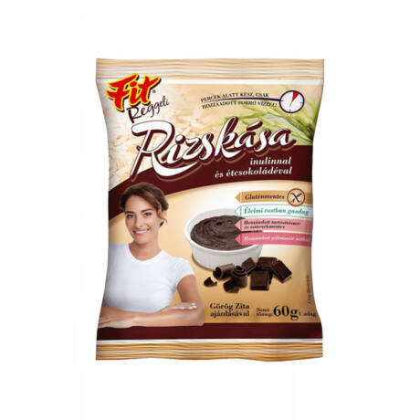 Fit Rizskása Étcsokoládéval 60g