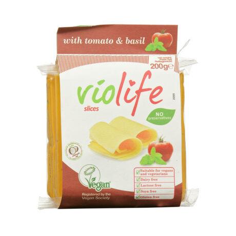 Violife szeletelt paradicsom+bazsalikom 200 g