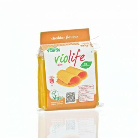 Violife növényi sajt cheddar 200g