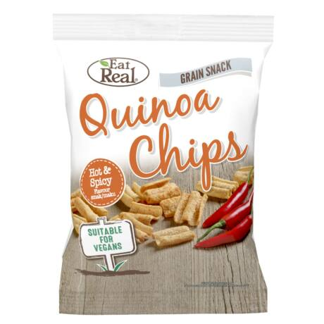 EAT REAL QUINOA Chips édes chili 30g