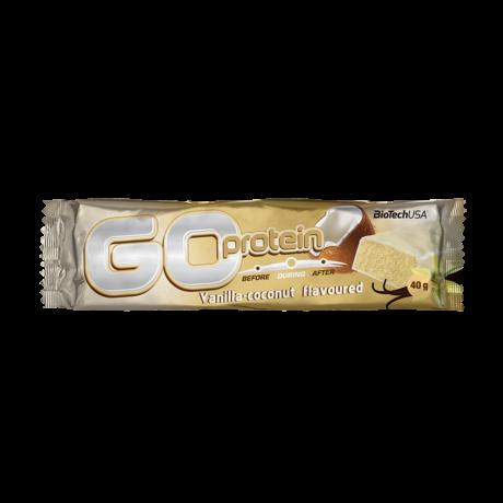BioTechUSA Go Protein 80g vanília-kókusz