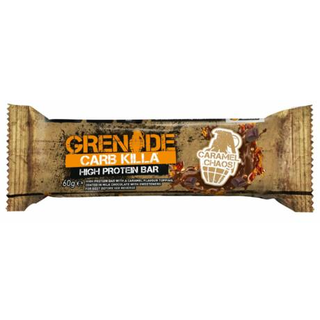 Grenade Carb Killa Protein Bar 60g - Caramel Chaos (Karamel)